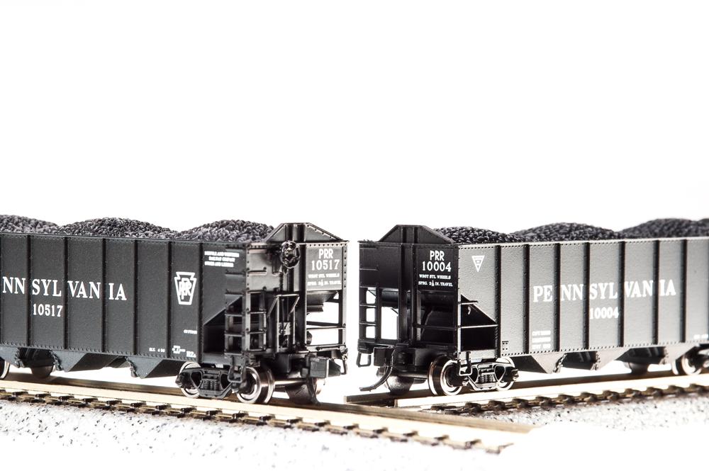 N Scale - Broadway Limited - BLI-3116 - Open Hopper, 3-Bay, H2A - Pennsylvania