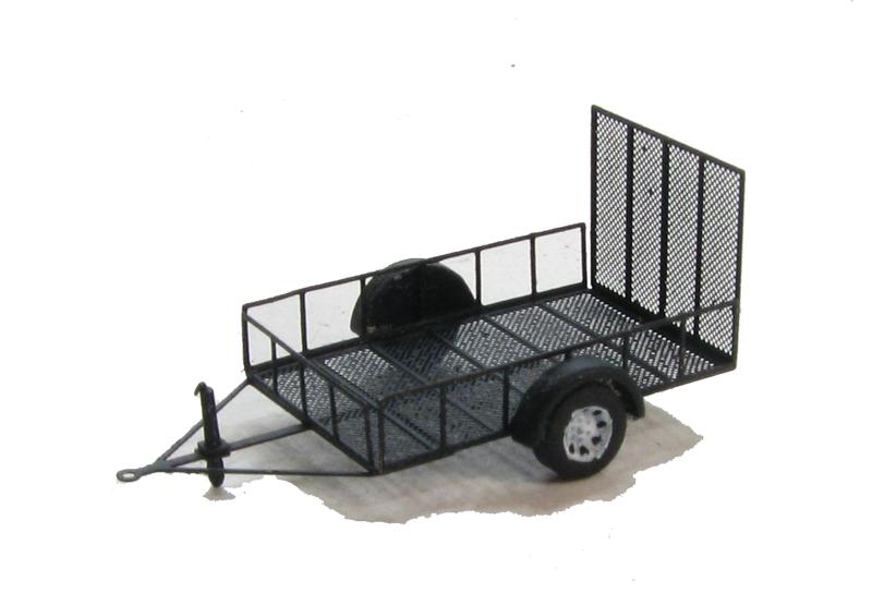 N Scale - Showcase Miniatures - 532 - Trailer, Utility
