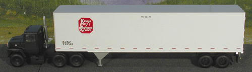 N Scale - Atlas - 29711 - Trailer, 45 Foot, Pines - Kansas City Southern - 230361