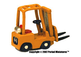 N Scale - Period Miniatures - 3000 - Truck, Forklift, Clark, 3,000 LB,