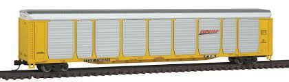 N Scale - Con-Cor - 0001-014742 - Autorack, Enclosed, Bi-Level - Burlington Northern Santa Fe - 156339