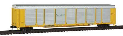 N Scale - Con-Cor - 0001-014750 - Autorack, Enclosed, Bi-Level - Ferromex - 158460