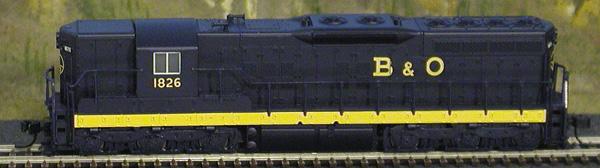 N Scale - Atlas - 53603 - Locomotive, Diesel, EMD SD7 - Baltimore & Ohio - 1829