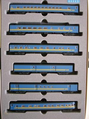 N Scale - Kato USA - 106-015 - VIA Rail 6-Car Set - Via Rail Canada