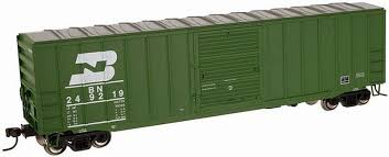 N Scale - Atlas - 33602 - Boxcar, 50 Foot, Fruit Growers Express - Burlington Northern
