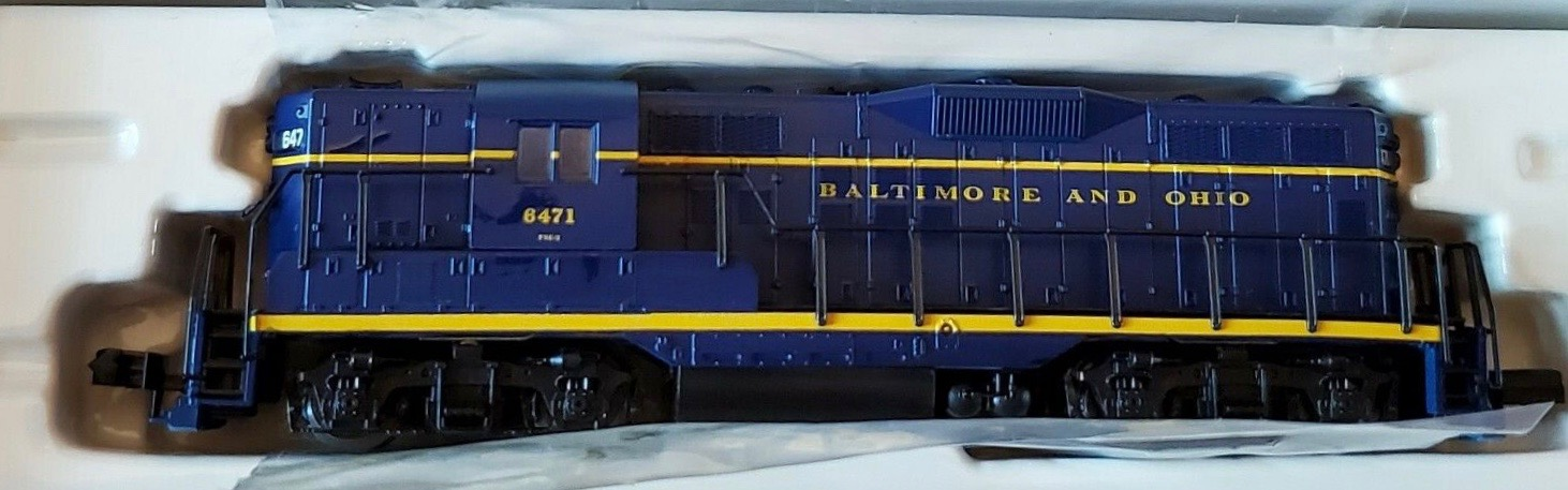 N Scale - Atlas - 48302 - Locomotive, Diesel, EMD GP9 - Baltimore & Ohio - 6471