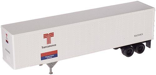 N Scale - Atlas - 29031 - Trailer, 45 Foot, Pines - Transamerica Transportation - 654356