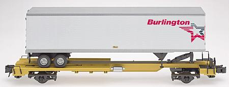 N Scale - Atlas - 29692 - Trailer, 45 Foot, Pines - Burlington Motor Carriers - A11022