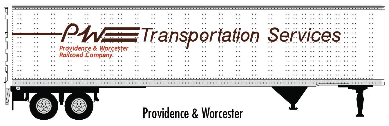 N Scale - Atlas - 29050 - Trailer, 45 Foot, Pines - Providence & Worcester