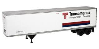 N Scale - Atlas - 29051 - Trailer, 45 Foot, Pines - Transamerica Transportation - 236266