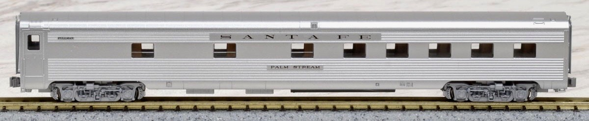 N Scale - Kato USA - 106-6002-D - Passenger Car, Lightweight, ACF - Santa Fe - Palm Stream