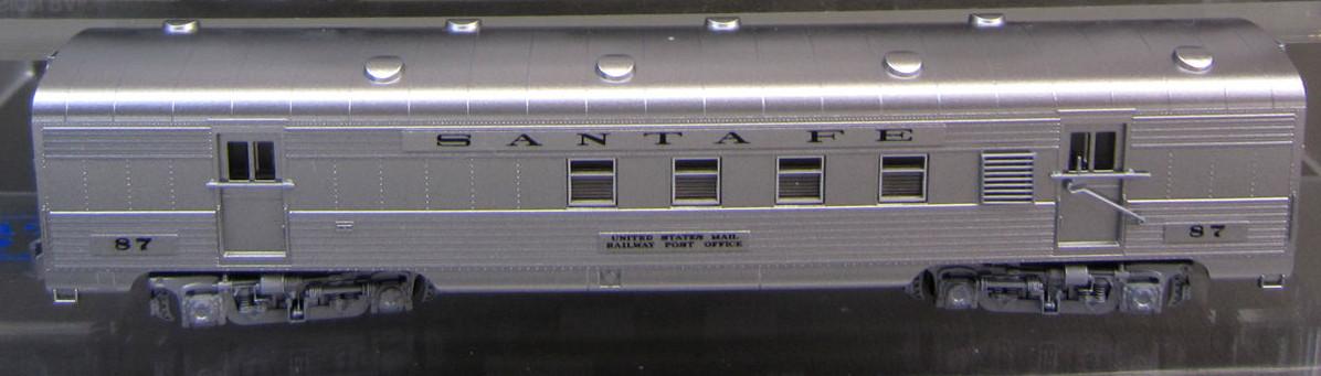 N Scale - Kato USA - 106-6002-B - Passenger Car, Lightweight, ACF - Santa Fe - 87