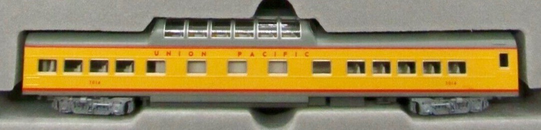 N Scale - Kato USA - 106-024-C - Passenger Car, Pullman, Dome Coach - Union Pacific