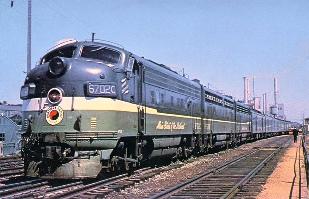 Rail - Locomotive - Diesel - EMD F9
