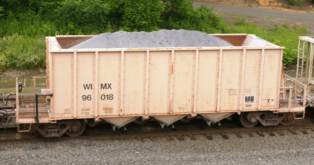 Vehicle - Rail - Rolling Stock (Freight) - Open Hopper - 3-Bay, Ortner Rapid Discharge
