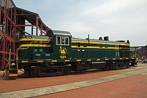 Rail - Locomotive - Diesel - Alco RS-3