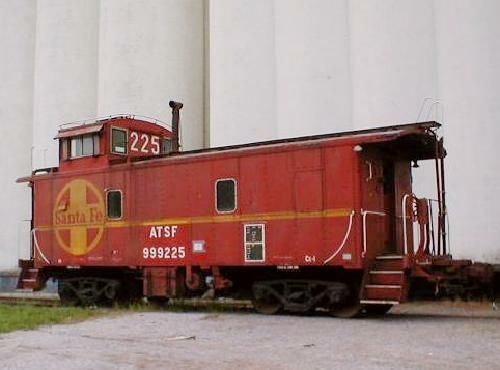 Rail - Rolling Stock (Freight) - Caboose - Cupola, Steel