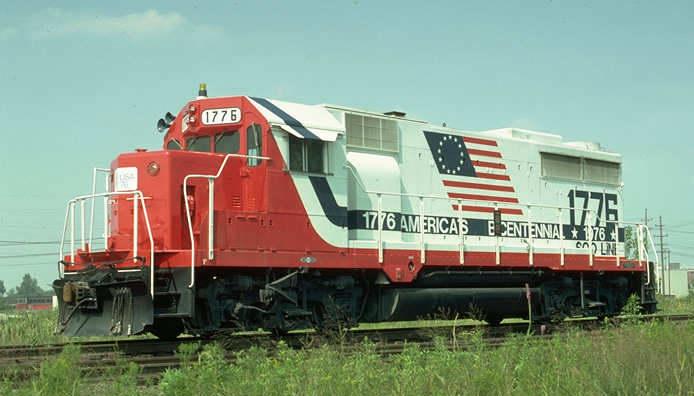 Rail - Locomotive - Diesel - EMD GP35