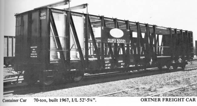 Vehicle - Rail - Rolling Stock (Freight) - Container Car - Ortner