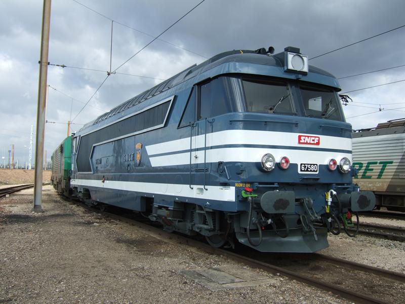 Vehicle - Rail - Locomotive - Diesel - SNCF BB 67000