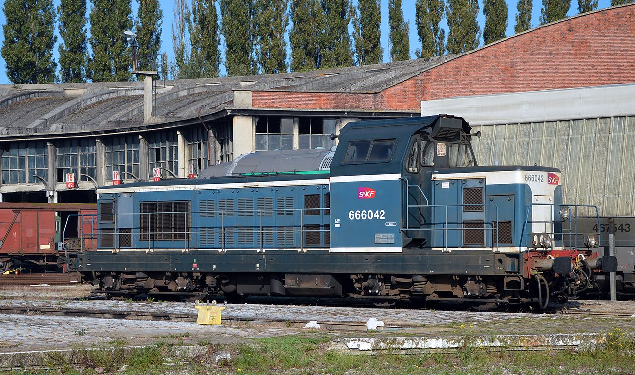 Rail - Locomotive - Diesel - SNCF BB 66000
