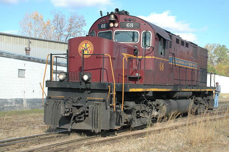 Vehicle - Rail - Locomotive - Diesel - Alco C-420
