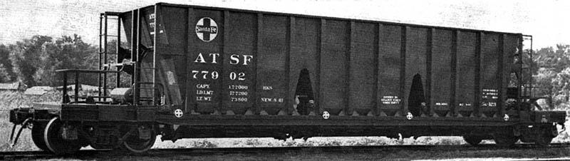 Vehicle - Rail - Rolling Stock (Freight) - Open Hopper - 3-Bay Longitudinal