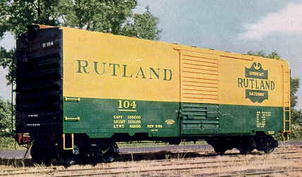 Rail - Rolling Stock (Freight) - Boxcar - 40 Foot, PS-1