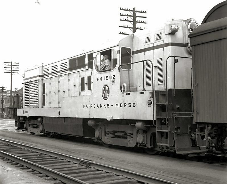 Rail - Locomotive - Diesel - Fairbanks Morse H-15-44