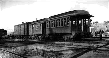 Rail - Passenger Car - Early - Overton