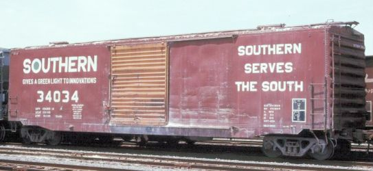 Vehicle - Rail - Rolling Stock (Freight) - Boxcar - 50 Foot, PS-1