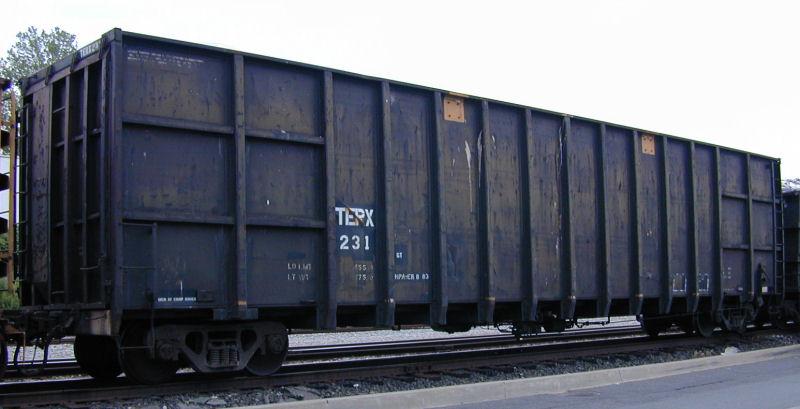 Rail - Rolling Stock (Freight) - Gondola - Woodchip