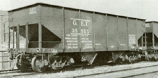 Rail - Rolling Stock (Freight) - Open Hopper - 2-Bay 55 Ton