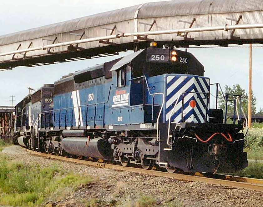 Vehicle - Rail - Locomotive - Diesel - EMD SD40-2