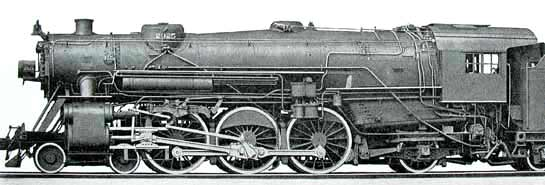 Rail - Locomotive - Steam - 4-6-2