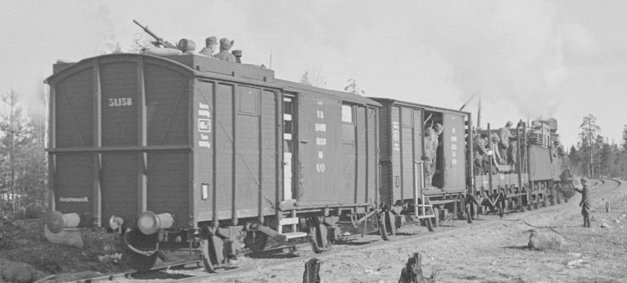 Rail - Rolling Stock (Freight) - Boxcar - 2-Axle Wood Sheathed