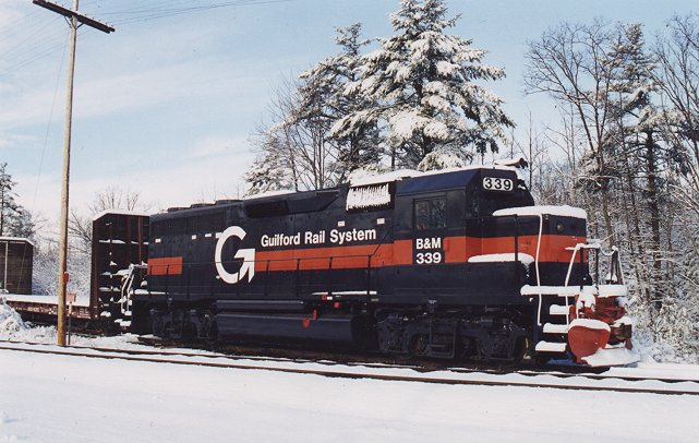 Rail - Locomotive - Diesel - EMD GP40