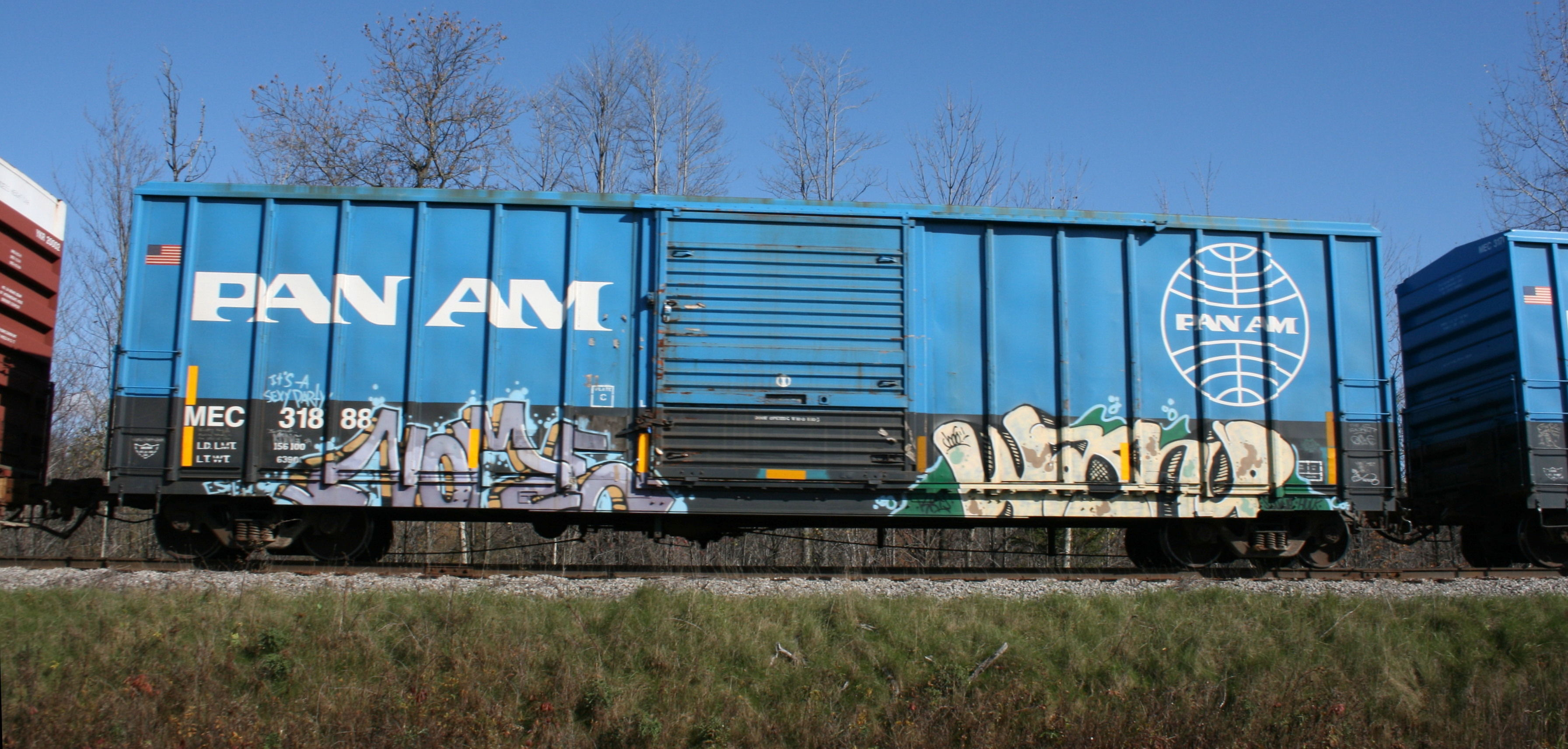 Vehicle - Rail - Rolling Stock (Freight) - Boxcar - FMC 5347
