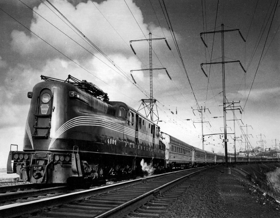 Vehicle - Rail - Locomotive - Electric - GG1