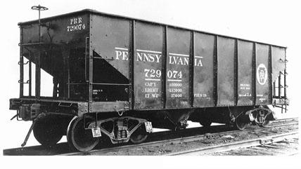 Rail - Rolling Stock (Freight) - Open Hopper - GLa