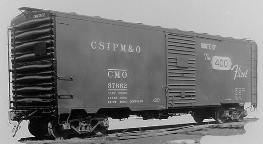 Rail - Rolling Stock (Freight) - Boxcar - AAR 1944