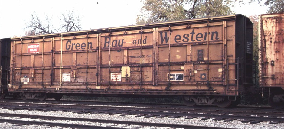 Vehicle - Rail - Rolling Stock (Freight) - Boxcar - 55 Foot Thrall All-Door