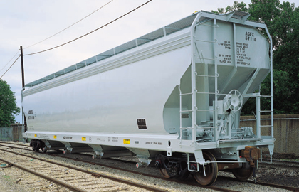 Vehicle - Rail - Rolling Stock (Freight) - Covered Hopper - 4-Bay ACF Centerflow