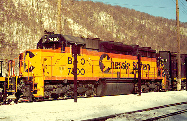 Vehicle - Rail - Locomotive - Diesel - EMD SD35