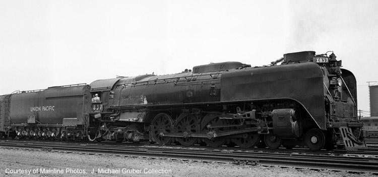 Rail - Locomotive - Steam - 4-8-4 FEF-3