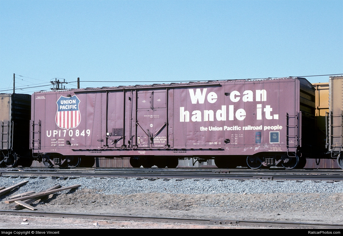 Rail - Rolling Stock (Freight) - Boxcar - 50 Foot