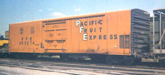 Rail - Rolling Stock (Freight) - Boxcar - 50 Foot Steel