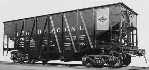 Rail - Rolling Stock (Freight) - Open Hopper - Composite