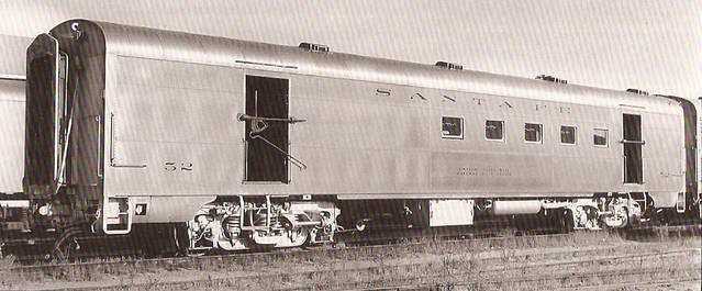 Vehicle - Rail - Passenger Car - Streamlined/Lightweight - ACF Smoothside