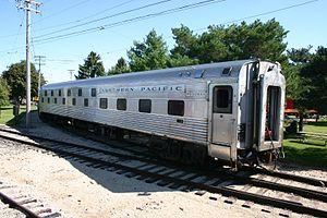 Vehicle - Rail - Passenger Car - Streamlined/Lightweight - Budd